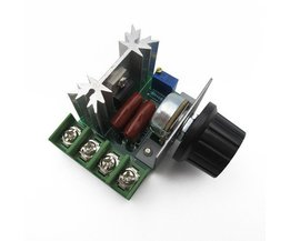 Fixmee13 khz Pulsbreedtemodulatie PWM AC Motor Speed Control met Knop 50 ~ 220 V