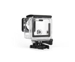 3 stks Standaard + Skelet + Touchscreen Backdoor Achterdeur Case cover kit voor gopro hero 3 + hero 4 action camera behuizing case