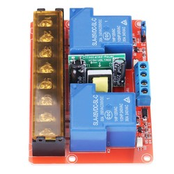 MyXL AC 100 V-250 V 2-Channel Relaismodule 30A DC 5 V hoog-laag Niveau Trigger Schakelaar Relais Module