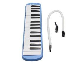 32 Piano Toetsenbord Pinao Melodica Muziekinstrument voor Muziek Liefhebbers Beginnersmet Draagtas