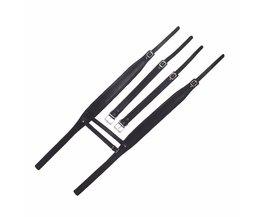 Hogere Kwaliteit Dikke Zwarte Schouderbanden 96 120 Bas Accordeon Accessoires ComfortabeleKoop