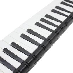 MyXL Zwart Kleur Student Instructeur 37 Sleutel Melodica Piano Stijl Harmonica + Oxford Tas Liefhebbers Speelgoed Muziekinstrument spelen melodica