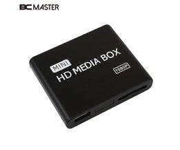 BCMaster 1080 P Mediaspeler Media Box USB Met HDMI AV MKV AVI MP4 Ondersteuning Sd-kaart