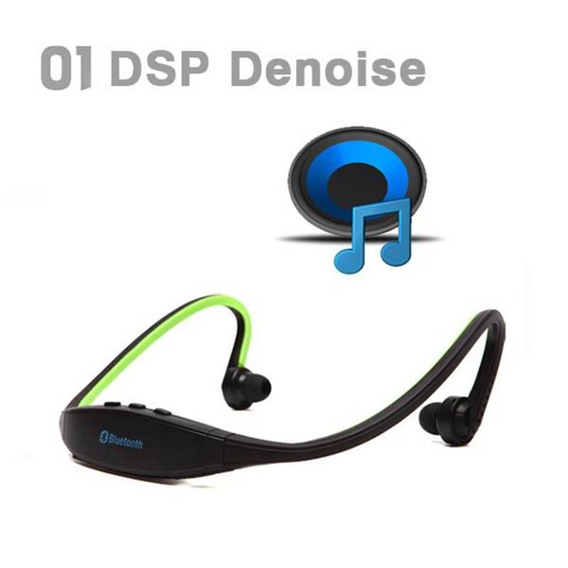 Kebidu Sport Stereo Draadloze Bluetooth 3.0 Headset Koptelefoon Hoofdtelefoon voor iPhone 5-4 Galaxy
