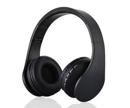 Bluetooth 3.0 Headset Draadloze Hoofdtelefoon Stereo Opvouwbare Sport Oortelefoon Microfoon Headset Bluetooth Oortelefoon voor Xiaomi iPhone
