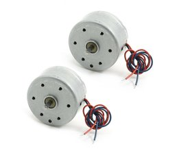 2 STKS RC300 6000 RPM DC 1.5-9 V Micro Motor voor CD Dvd-speler