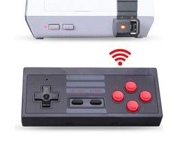 2.4 GHz Draadloze Gamepad Voor Mini Nes Console 5 M Ontvangen Afstand Gaming Controller Voor NES Klassieke Editie Gamepad Voor Nintendo