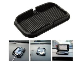 1 st auto Anti Slip pad Mobiele Telefoon Silicagel Anti-skid Pad multifunctionele Opbergdoos Telefoon Shelf Antislip Auto-accessoires