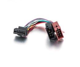 Auto CD Radio Audio Stereo ISO Standaard Kabelboom Connector Draad Adapter Plug Kabel voor Sony CDX MEX DSX WX
