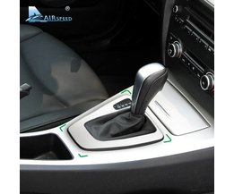Airspeed Auto Controle Versnellingspook Panel Cover Gearshift Panel Frame Trim Mouldings voor BMW E90 E92 3 Serie 2005-2012 Auto Styling