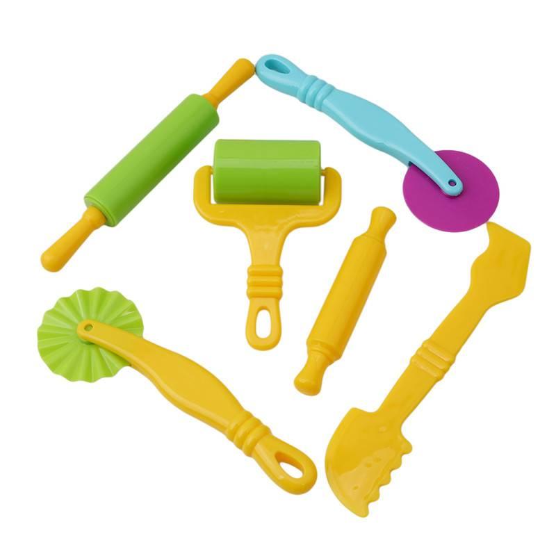 Kleur Spelen Deeg Model Tool Speelgoed Creatieve 3D Plasticine Gereedschap Playdough Set, klei Malle