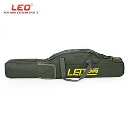 MyXL LEO 100 cm/150 cm Draagbare Vouwen Hengel Carrier Vis Pole Gereedschap Opbergtas Case Pro Gear Tackle