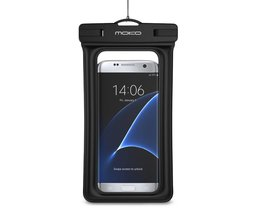 Drijvende Waterdichte Case, MoKo Universele Droge Tas Pouch met Armband Nekband voor iPhone X/8 Plus/8/7/6 S Plus, Samsung Note 8/S8