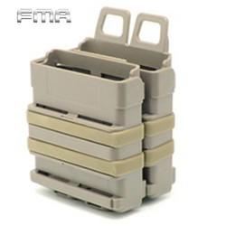 MyXL FMA Airsoft Rifle 5.56 Mag M4 Magazine Fast Attach Tactical Pouch Molle Systeem Module Combinatie Twee Houder Tijdschrift Zakjes