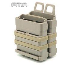 FMA Airsoft Rifle 5.56 Mag M4 Magazine Fast Attach Tactical Pouch Molle Systeem Module Combinatie Twee Houder Tijdschrift Zakjes