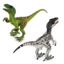 MyXL Jurassic Wereld Park Velociraptor Dinosaurus Actie & Speelfiguren Dier Collectional Model Leren Onderwijs# E