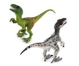 Jurassic Wereld Park Velociraptor Dinosaurus Actie & Speelfiguren Dier Collectional Model Leren Onderwijs# E