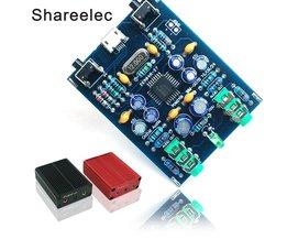 Shareelec PCM2706 HI USB Geluidskaart DIY Kit USB DAC SPDIF android compatibel MicroUSB windows zonder Driver Plug en Play