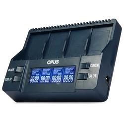 MyXL Opus BT-C900 Intelligente Digitale 4 Slots LCD Multifunctionele 9 V Li Charger EU US Adapter voor 26650 18650 18500