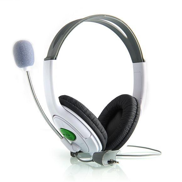 Live Grote Headset Hoofdtelefoon Met Microfoon voor XBOX 360 Xbox360 SlankeAankomst Gaming Headsets