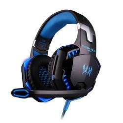 MyXL Computer Stereo Gaming Hoofdtelefoon Kotion ELKE G2000 Beste casque Diepe bas Spel Oortelefoon Headset met Microfoon LED Light voor PC Gamer