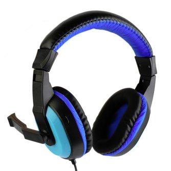 Kebidu Mini Stereo Oortelefoon Full-range stereo Gaming Hoofdtelefoon 3.5mm Computer PC Gamers Headset Met Microfoons Voor Muziek