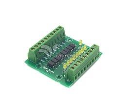 12 V/24 V Ingang 5 V Uitgang Optocoupler Isolatie Bedieningspaneel 8 Kanaal Geïsoleerde Ingangssignaal Board Signaal conversie Module