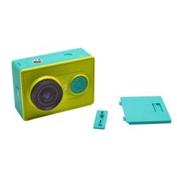 MyXL Voor xiaomi yi accessoires camera vervangende batterij back rear cover met usb-poort cover voor xiaomi yi xiaoyi action Camera
