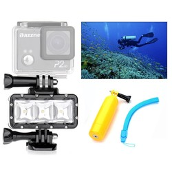 MyXL Orsda zaklamp lamp Onderwater Duiken Waterdichte LED Flash Video Light Mount Voor GoPro hero3 + SJCAM SJ4000 H9 H9R xiaomi OR007