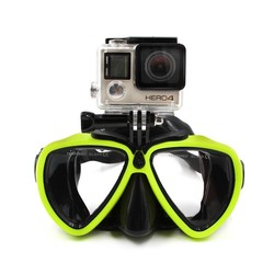 MyXL TELESIN Duiken Masker Zwemmen Googgles Mount Adapter voor GoPro Hero 6 5 4 3, Xiaomi Yi Xiaoyi 4 K, SJCAM EKEN Accessoires