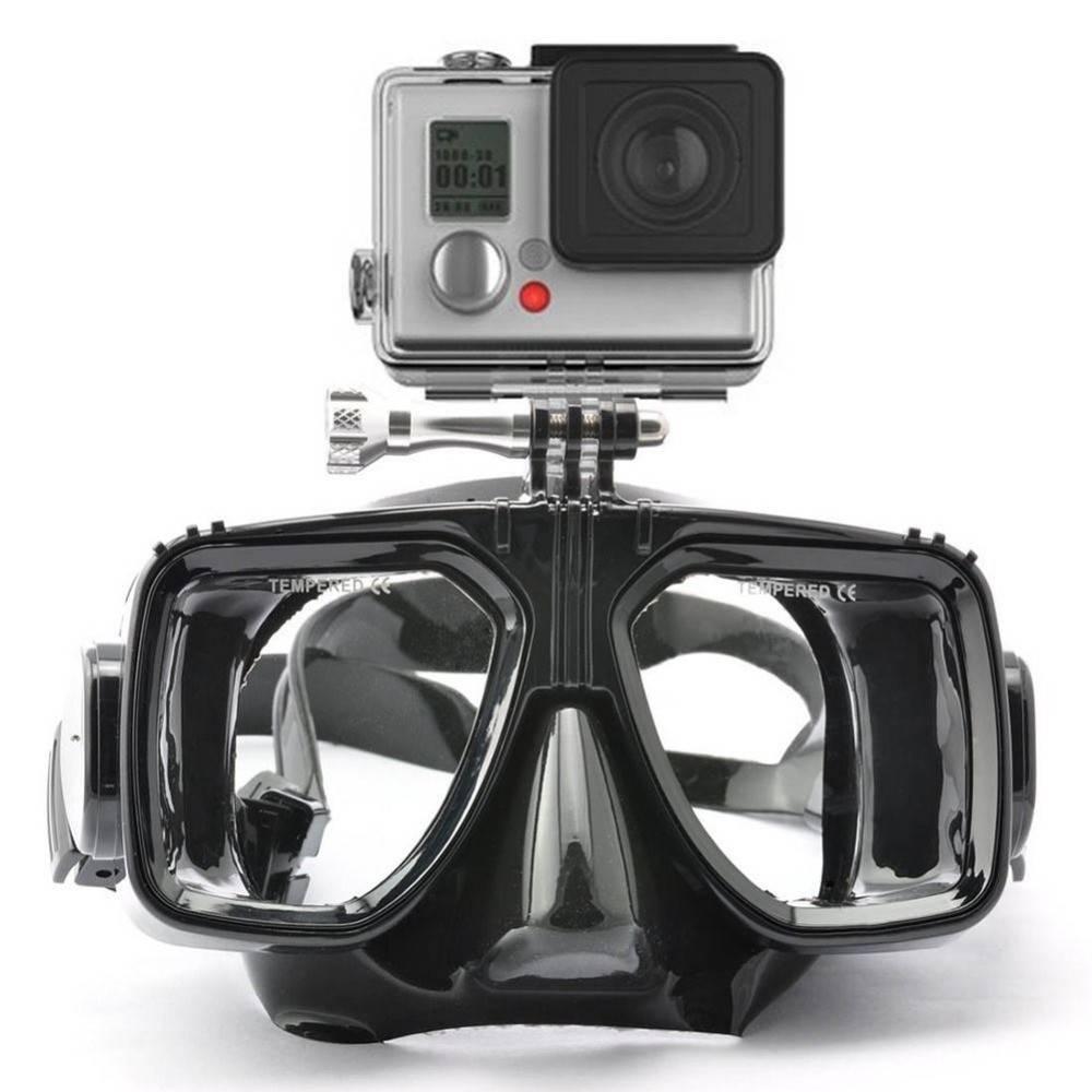 Voor Gopro Duiken Masker Bril Snorkel Zwemmen Gehard Glasse Voor GoPro Hero 6 Hero5 Hero 3 3 + 4 Xia