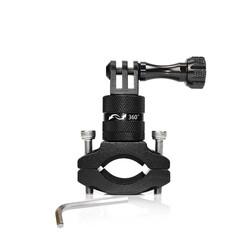MyXL Aluminium Stuur Houder voor GoPro Hero 4 3 + 3 2 1 Sport Action Camera Houder Fiets Stand Houder Cam Mount