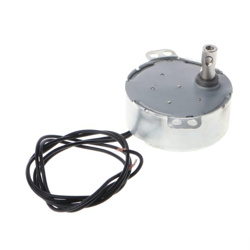 MyXL AC 220-240 V Synchrone Motor Gearmotor 4 W CW/CCW Geweldig Paar 5-6 RPM