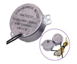 1 stks AC 220 V Mini incubator motor Incubator Accessoires Synchrone Motor 50ktyz-21 AC220v 4 w 2.5r/Min Voor uitkomen Machine