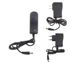 AC 110-240 V 8.4 V 1A Voeding Lader Adapter Voor Fiets T6/P7 LED licht EU/US Plug # ET1