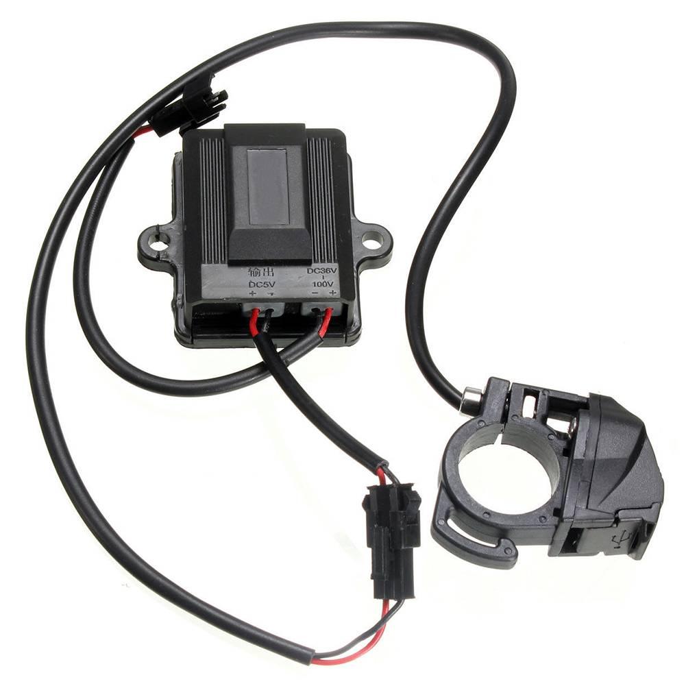 Usb-poort Elektrische Auto Fiets Dynamo Generator Lader Adapter voor 36-100 V elektrische auto