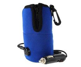 Draagbare Voedsel Melk Cup Warmer Heater Auto Flessenwarmer Heater Voedsel Melk Water Drink Fles Cup Voor Outdoor P25