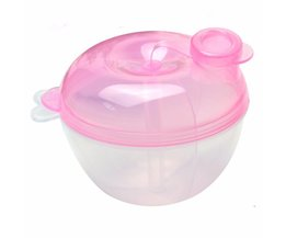 Draagbare Babymelk Voedsel Opslag Poeder Formule Dispenser Container Voeden rotatie Doos voor Kid Peuter Opslag Voerbox