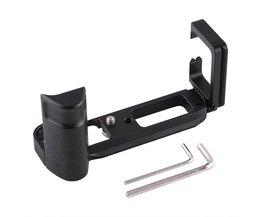 VBESTLIFE Aluminium Verticale L-Plaat Beugel Snelsluiting Handgreep Voor Fujifilm X-T10