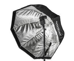 """Godox Octagon Softbox 80 cm/31.5 """"Inch Paraplu Reflector voor Flash Speedlight"""