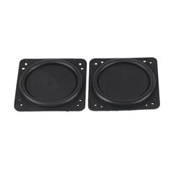 MyXL Bass Radiator Rubber Passieve Radiator Speaker Trillingen Diafragma Voor 2.5 3 INCH Lage Frequentie Woofer Speaker DIY 75*75 MM 2 STKS