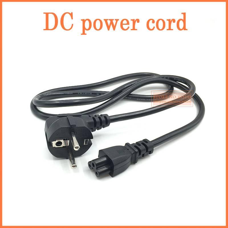 1.2 m EU-Europa 3Pin Netsnoer Kabel EU 3 Prong Laptop AC Adapter Lood 3Pin kabel