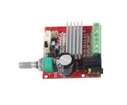 GHXAMP HIFI 15 W * 2 30 W Subwoofer Versterker Board Mini 2.1 Kanaal BASS Power Audio Versterker Speaker Board