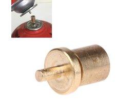 koop Gas Refill Adapter voor Outdoor Camping Kachel Gas Cilinder Gas Tank Gas Wandelen Accessoires