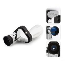 MyXL Verstelbare Mini Compact Pocket 8x20 Nachtzicht Aluminium HD Monoculaire Telescoop Voor Camping Outdoor Wandelen Supply Blauw