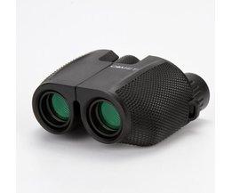 hoge keer 10X25 HD Alle-optische groene film waterdichte verrekijker telescoop voor toerisme verrekijker