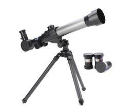 Kind Kids Telescoop Zoom Astronomische Professionele Telescoop Ruimte Astronomie Monoculaire Oculair met Doos