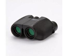 High Power HD 10X25 BAK4 Prisma groene film waterdichte verrekijker telescoop voor reizen jacht