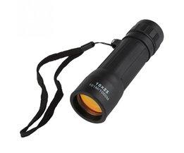 Portable 10x25 Mini Monoculaire Telescoop Handy Oculair Wandelen Jacht Camping Sport Met Bewapenen Strap