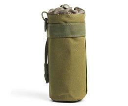 CS Kracht Tactische Militaire Molle Systeem Fles Water Zak Outdoor Sport Camping Wandelen Reizen Kits Survival Ketel Pouch Houder